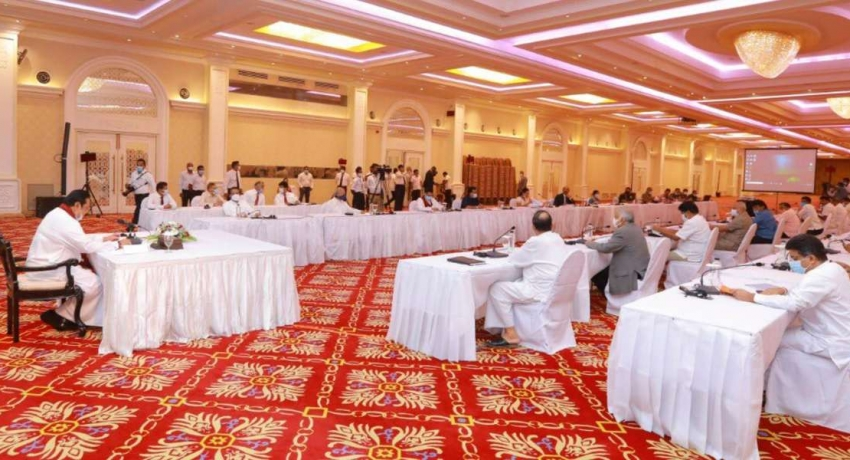 Party leaders come together to mitigate spread of COVID-19