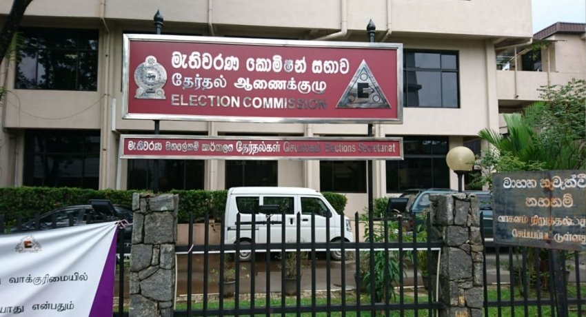 General election candidates barred from relief activities