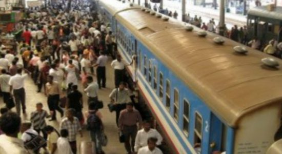 Trains delayed along Northern Railway line