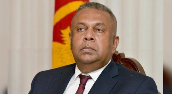 Former Finance Minister Mangala Samaraweera addresses a letter to the President