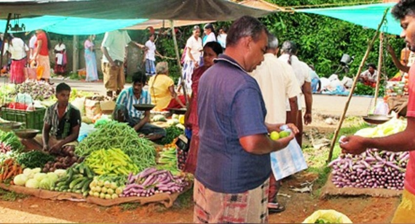 Farmers hawk their produce on roadsides as economic centres remain closed