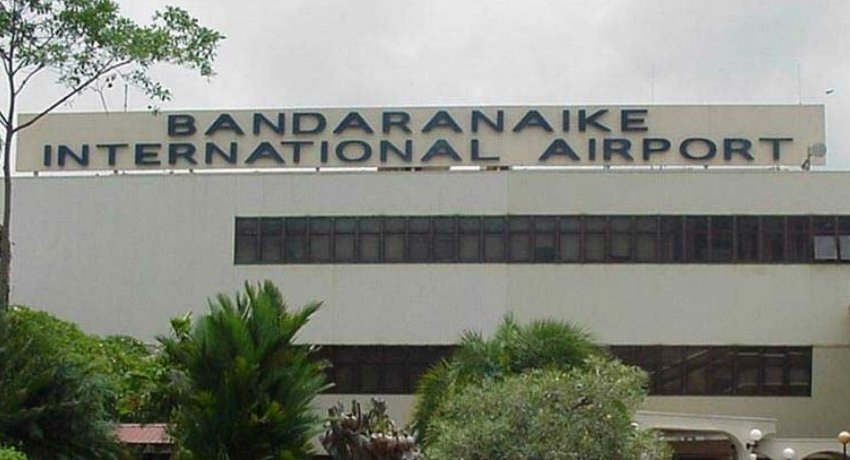 SriLankan Airlines carrying 113 Sri Lankans from Coimbatore, India arrive at BIA