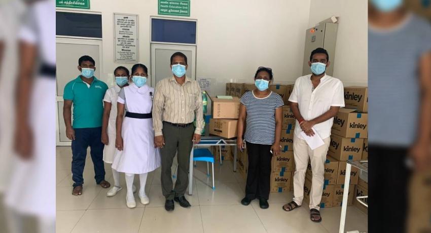 Divisathkara Foundation donates ECG machines