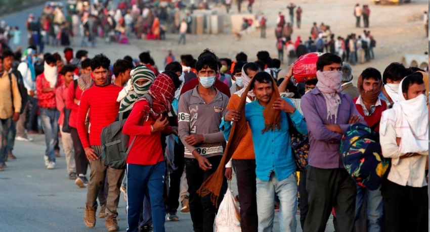 Millions of Indian migrants to return to their home states
