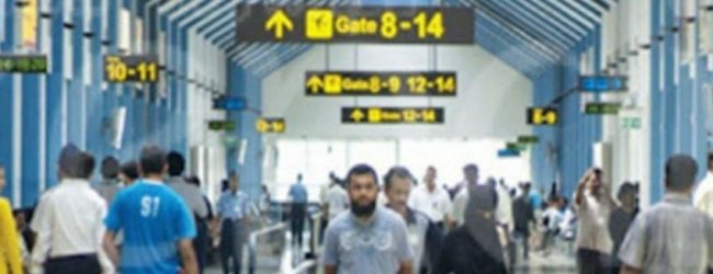 Three stranded Sri Lankans return to the country