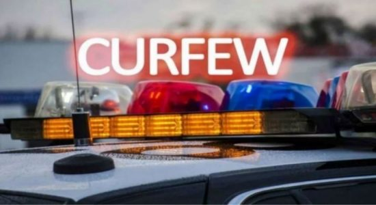 CURFEW LIFTED ACROSS 19 DISTRICTS AT 6 A.M. TO BE REIMPOSED AT 2 P.M.