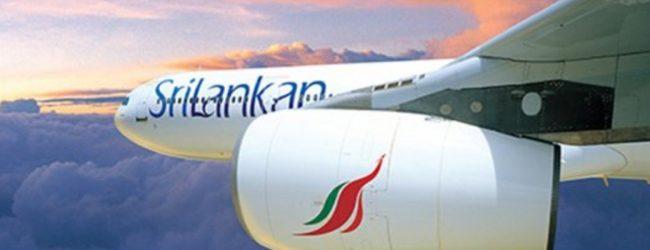 SriLankan Airlines temporarily suspends all flights