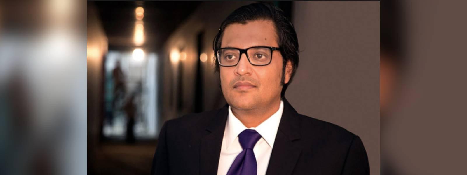 News1st condemns attack on Indian journalist Arnab Goswami