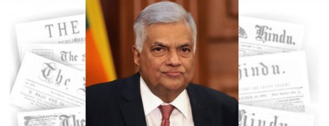 Fmr. PM Ranil Wickremesinghe says it is not a good time for elections