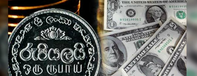 SL rupee depreciates sharply against the US dollar