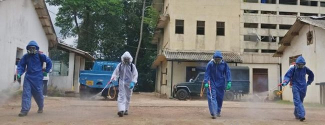 Update: Sri Lanka's COVID-19 cases reach 588; more than 180 frontline workers infected