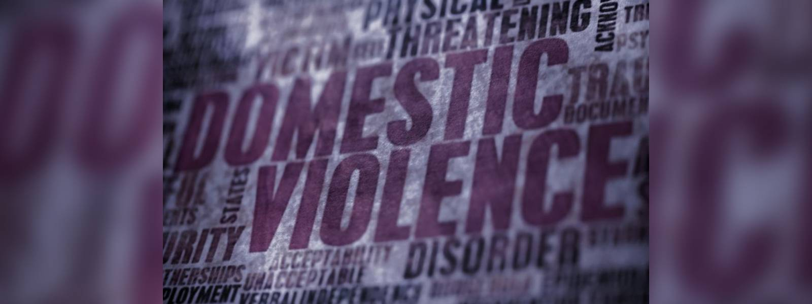 Spike in domestic violence; males vulnerable?