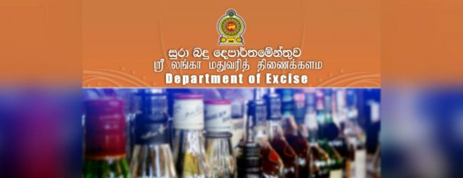 Excise Dept. permits opening of liquor stores when curfew is lifted