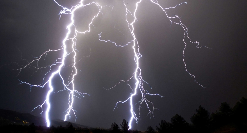 Severe lightning warning issued to six provinces