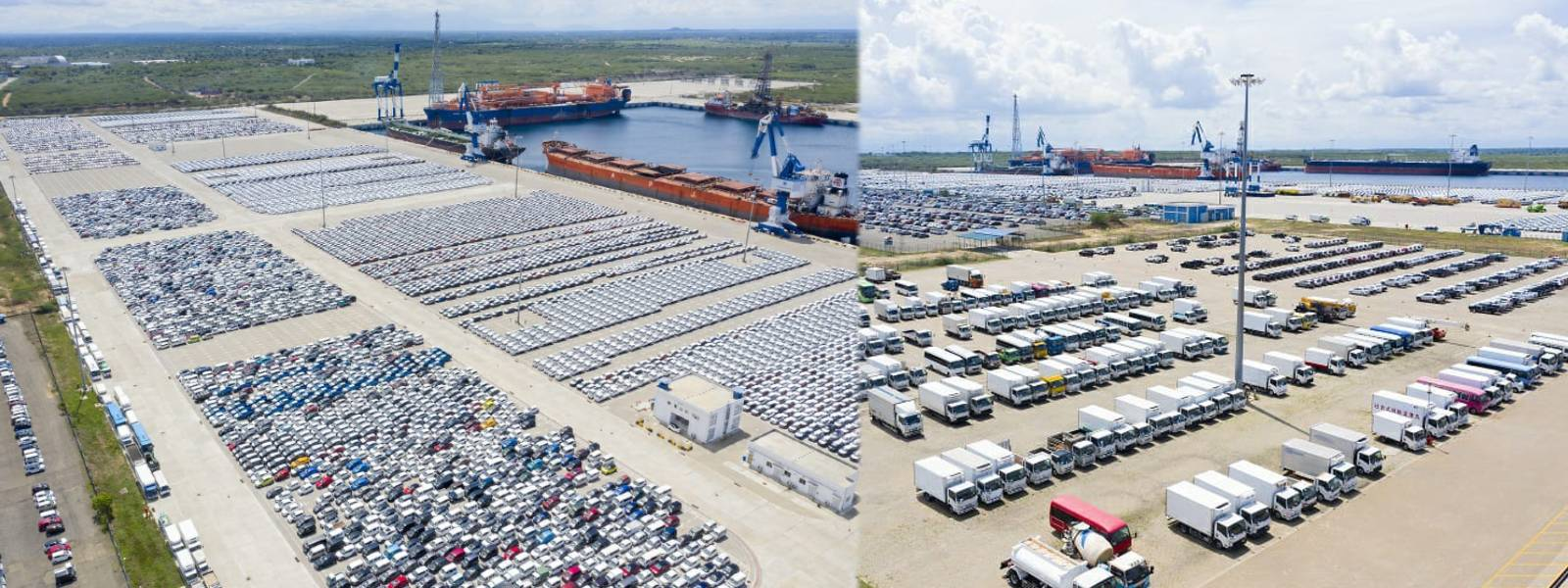 Hambantota Port asks importers to clear vehicles without delay