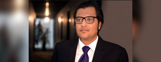 News1st condemns attack on Indian journalist Arnab Goswami