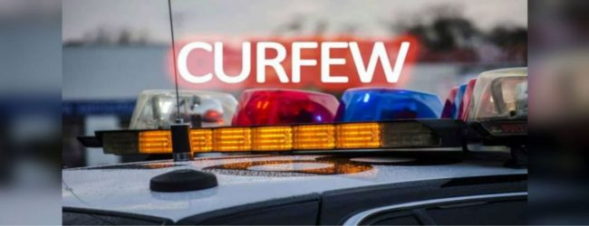 Curfew in 19 districts to be in effect until April 19 after being re-imposed tomorrow