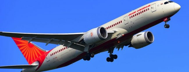 170 stranded Indian nationals leave Sri Lanka in a special Air India flight