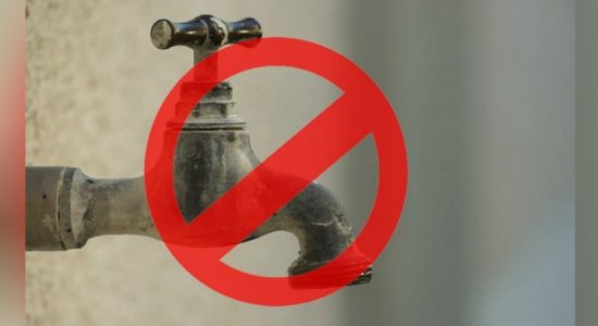 Water supply to be suspended in several areas in the Kalutara District and in other areas