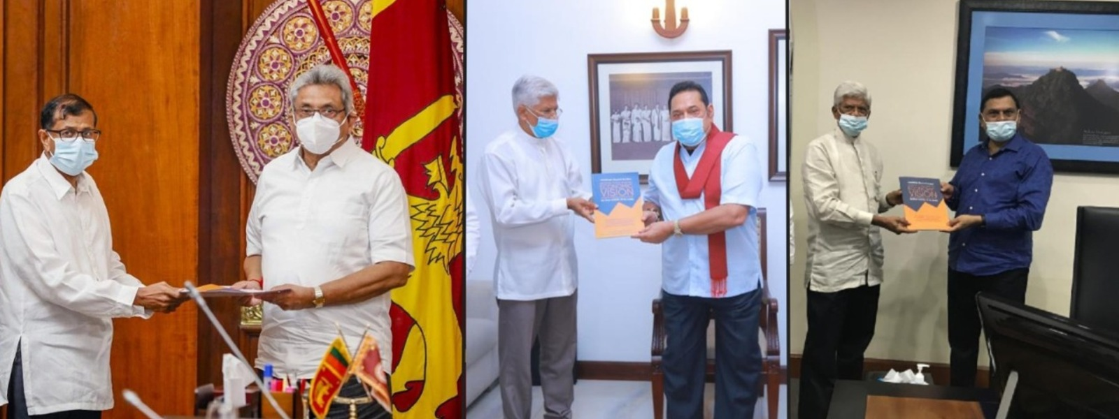 Go 'Beyond the Box', Pathfinder suggests to the President, PM and Basil Rajapaksa
