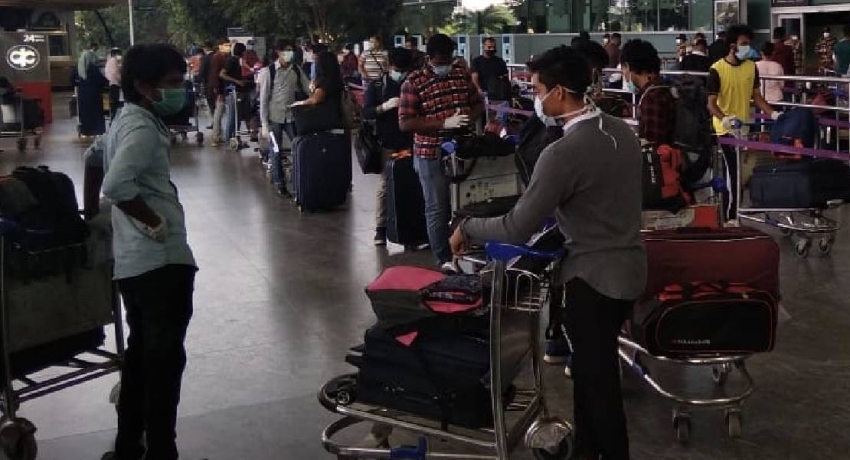 Sri Lankan students repatriated from South Asian countries