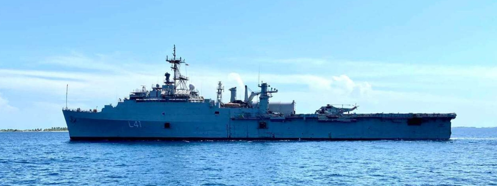 Indian Naval Ship INS Jalashwa to arrive in Colombo on repatriation mission