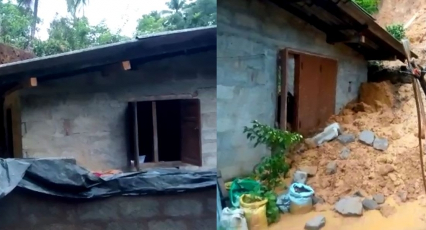 Woman and child buried alive under earth embankments in Ratnapura