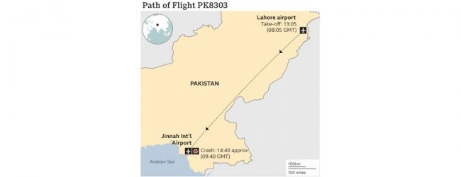 Pakistan plane crash: 37 fatalities confirmed