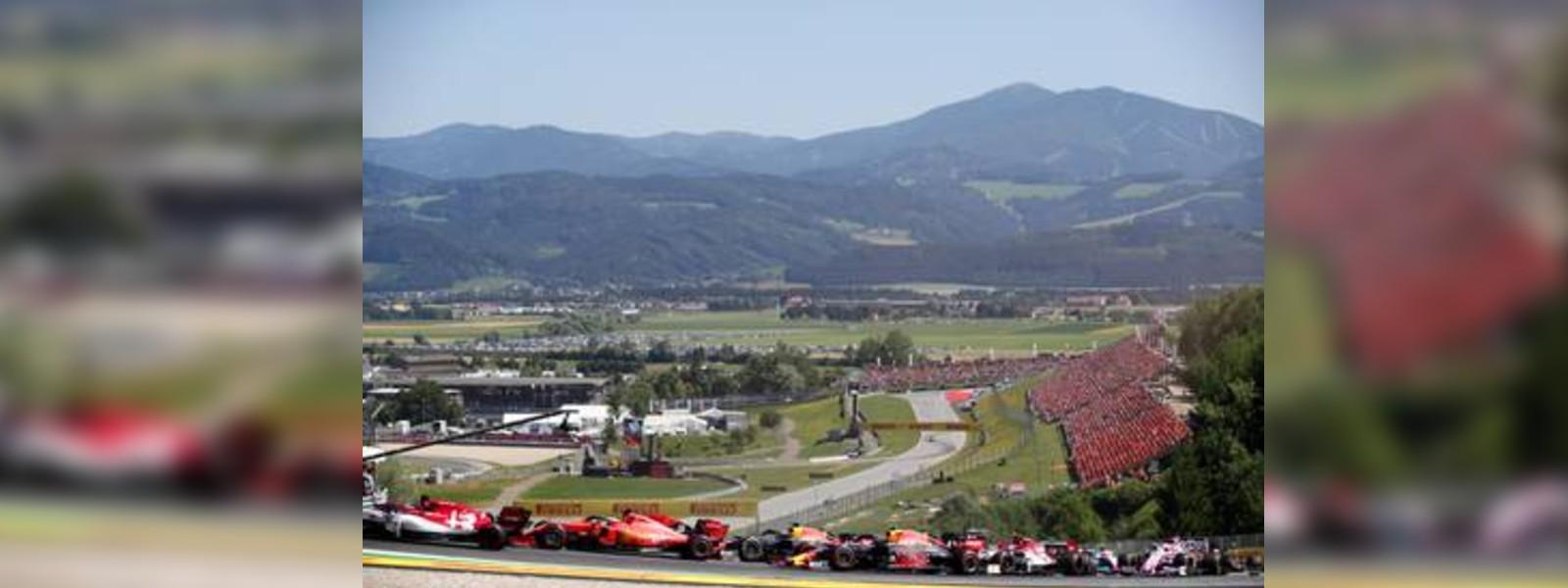 Austrian Grand Prix to start off F1 Season