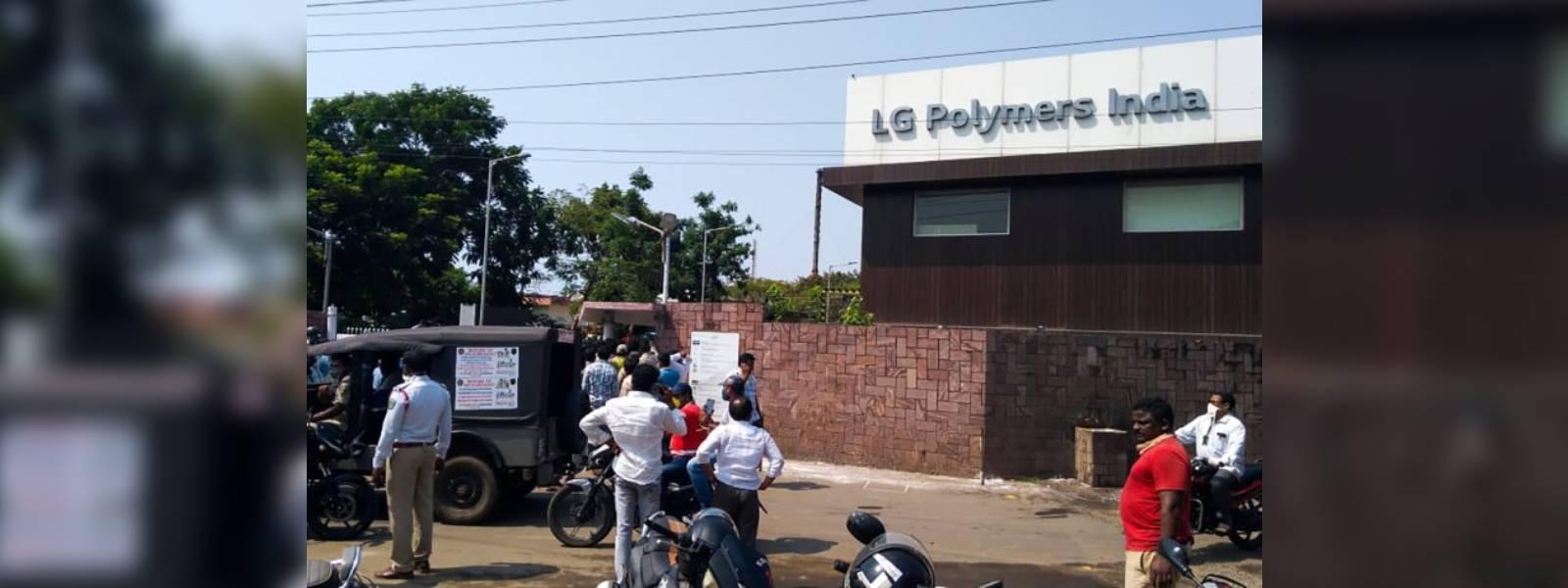 Gas leak at LG Polymers plant in India kills nine, hundreds hospitalised