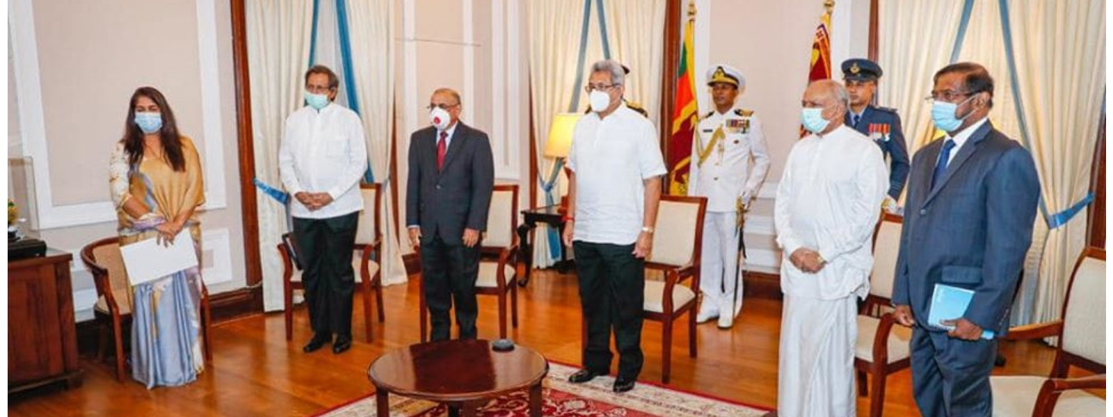 Three new diplomats hand over credentials via video conference