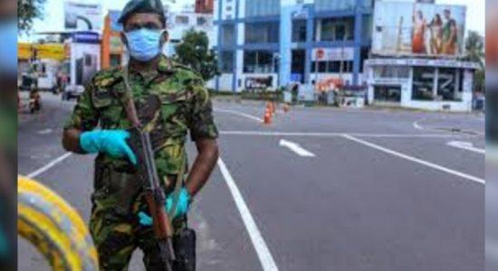Curfew in effect in the Nuwara-Eliya district today
