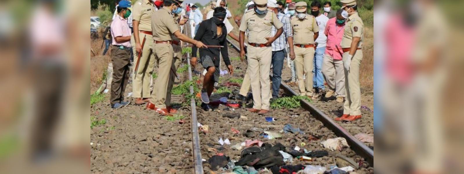 Indian train kills 14 workers laid-off in coronavirus lockdown