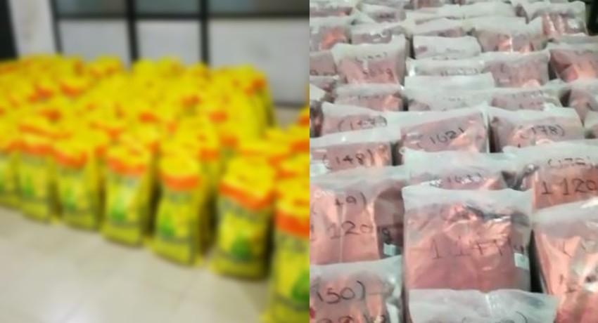 Massive haul of heroin worth over Rs. 2.3 Billion seized in Welisara