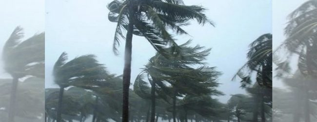 Over 3500 buildings damaged owing to inclement weather