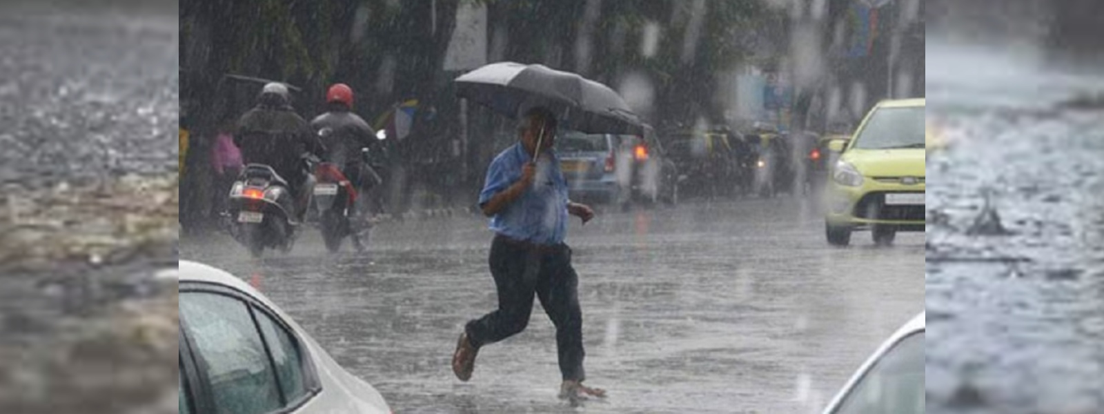 EXTREME WEATHER ALERT: HEAVY DOWNPOUR IN COLOMBO AND SUBURBS