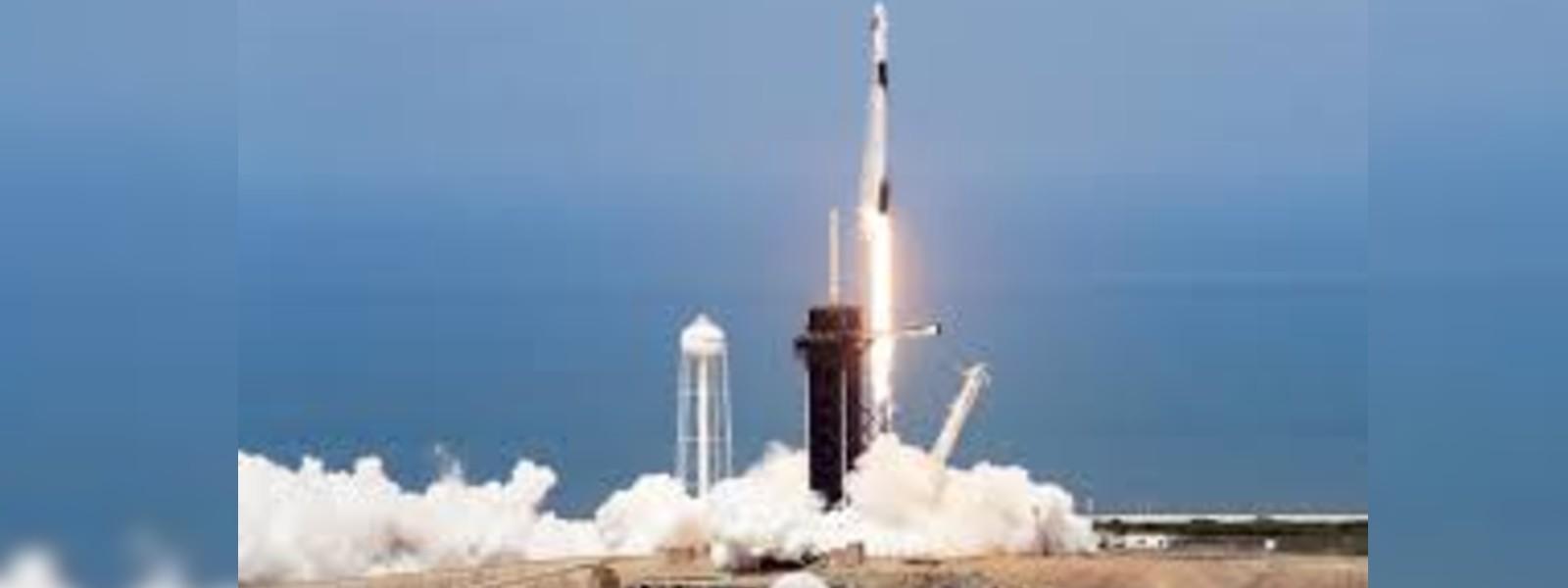 SpaceX & NASA sent 2 astronauts into orbit