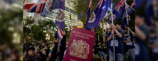 UK could offer 'path to citizenship' for Hong Kong's British passport holders