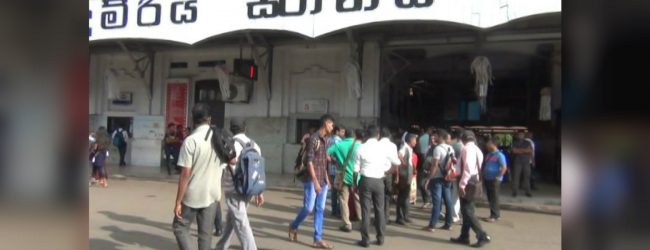 Passenger transport services to recommence partially from tomorrow