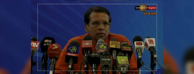 Ex-President Sirisena blames own govt. for thwarting extradition of Mahendran