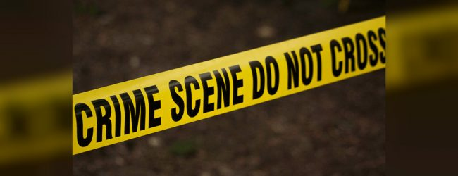 Charred human remains of an unidentified person discovered from Dambulla