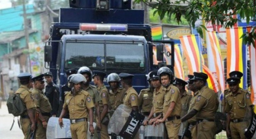 30 police officers deployed to quell protests sent for quarantine