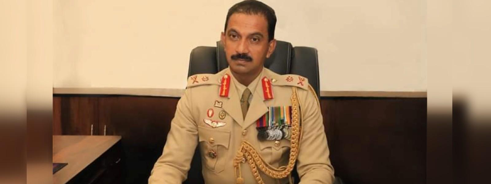 Maj. Gen. Jagath Gunawardena assumes duties as the new Chief of Staff of Army