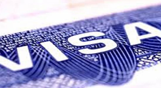 Validity of all types of VISA extended for a period of 30 days from 11th June