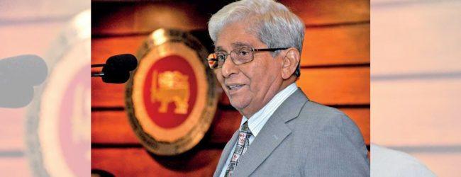 CBSL Governor Prof. W.D. Lakshaman refutes claims on his resignation