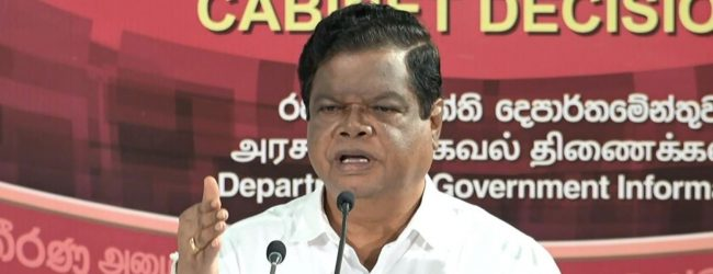 Weerawansa threatens to split from Govt. if MCC is signed