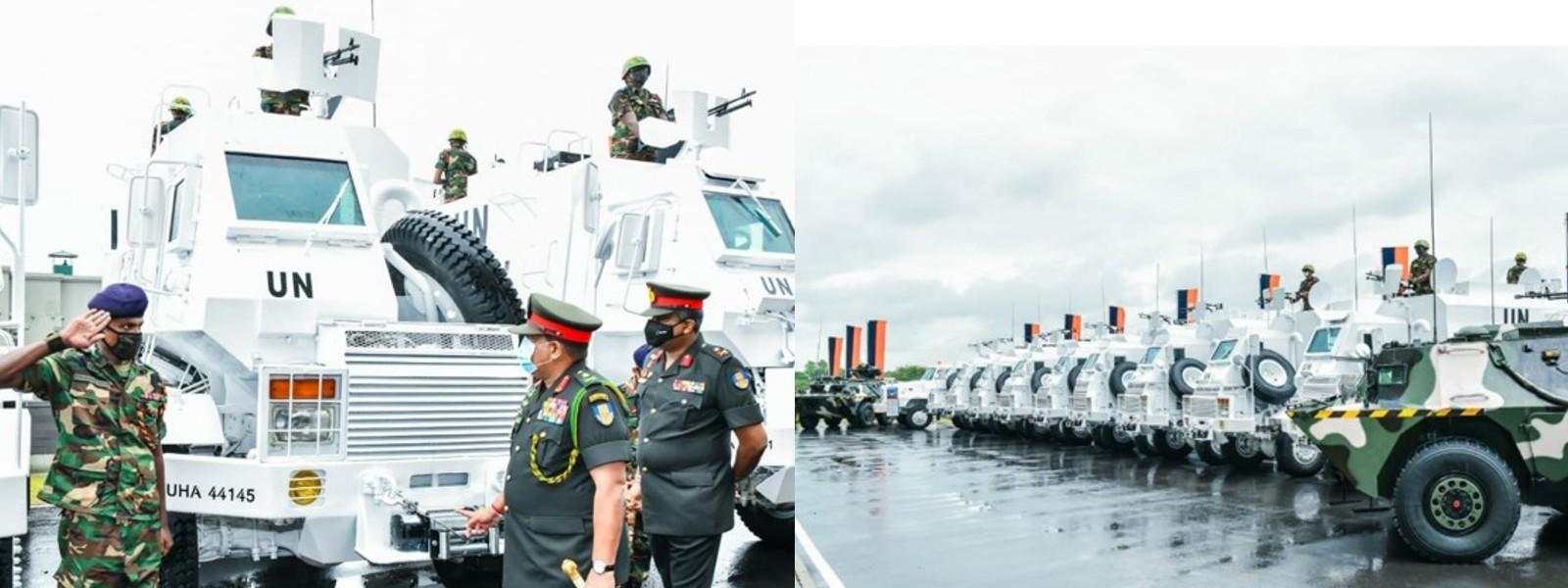 Army-Manufactured Mali-bound Unibuffels Ready for Shipment