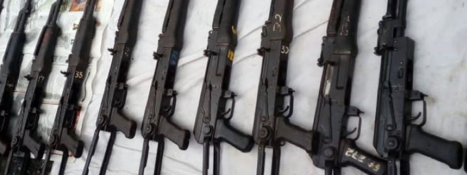 CID leading investigation on discovery of Assault Rifles from Homagama