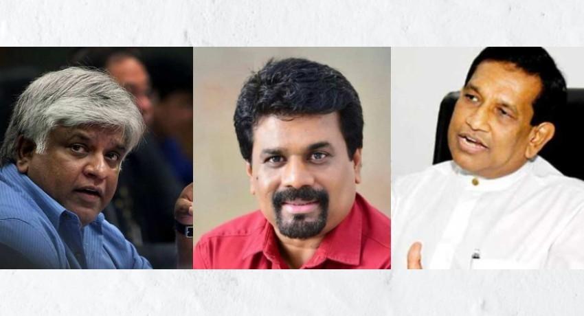 Anura Kumara, Rajitha Senaratne & Arjuna Ranatunga leave PCoI without testifying