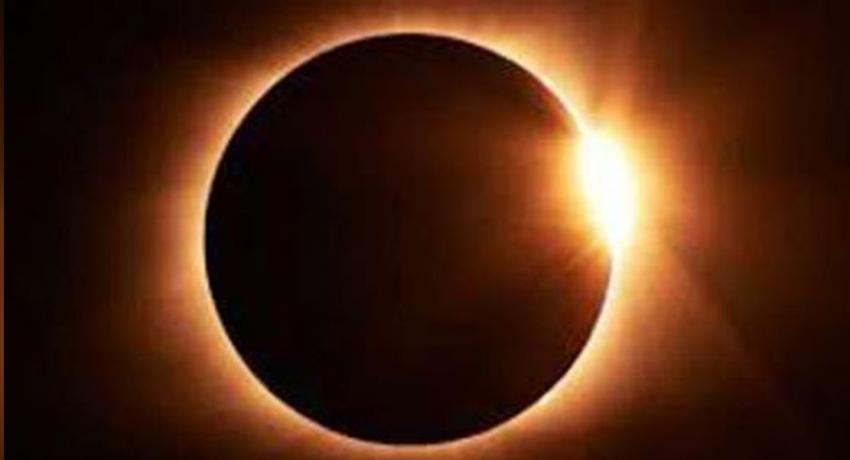 Partial solar eclipse in Sri Lanka on Sunday